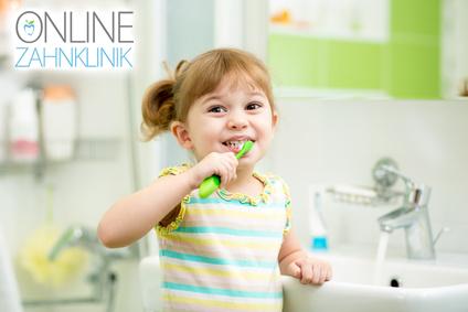 Richtiges Zähneputzen bei Kleinkindern